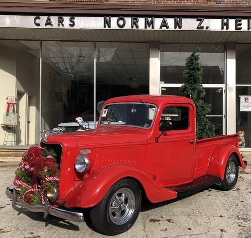 Ford truck on Main Street, Mount Joy, PA