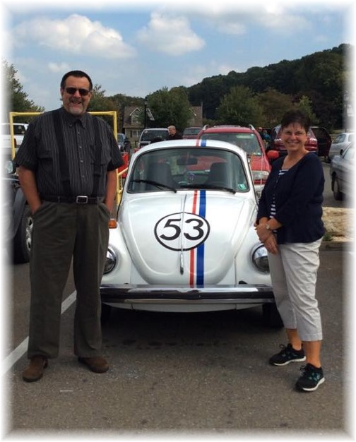Herbie at the BB's Grocery outlet in Quarryville, PA 9/19/14