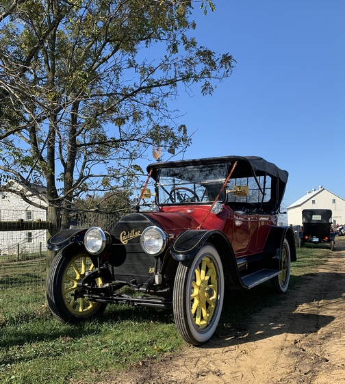 Antique cars at Old Windmill Farm 10/14/19