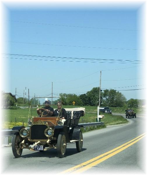 Old cars near Intercourse, PA 5/31/18