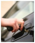 Unlocking car