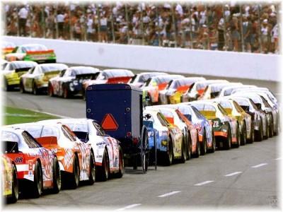 Amish NASCAR