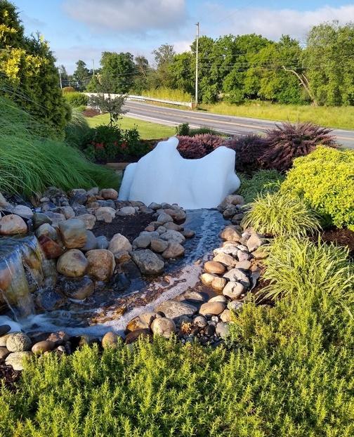 Audrey's fountain