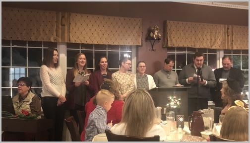 Audrey's banquet 11/16/18