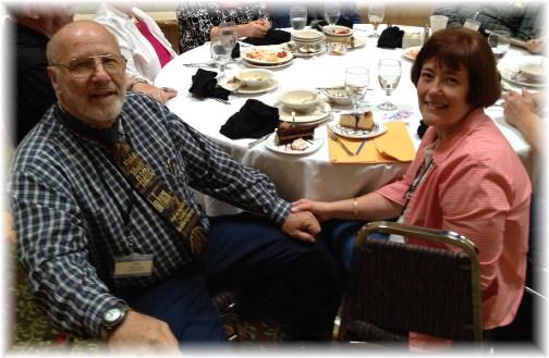 Chaplain Jim and Ann Whisnant 6/24/14