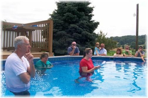 Baptism testimony