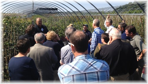 Convene meeting on Don Eaton's farm 9/18/14