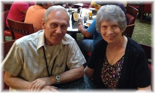 Dan and Kathy Peternel 6/25/14