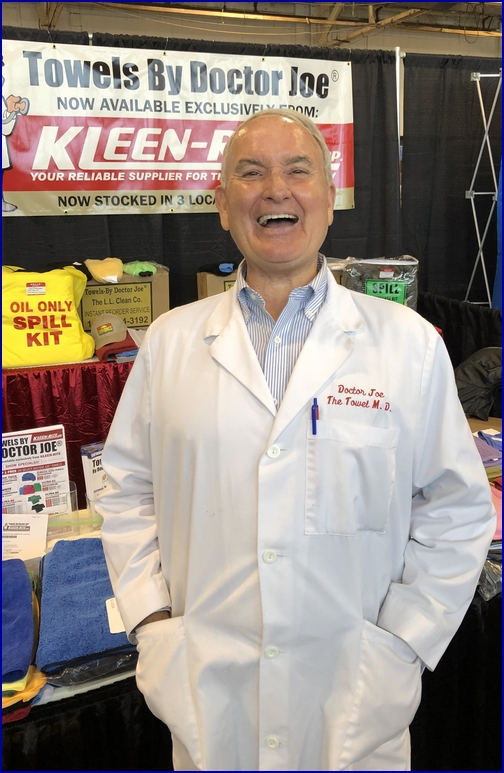 Dr Joe at Kleen-Rite car wash show car 11/14/18