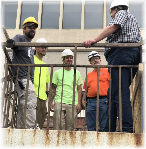 JK electricians at hotel project 6/22/18