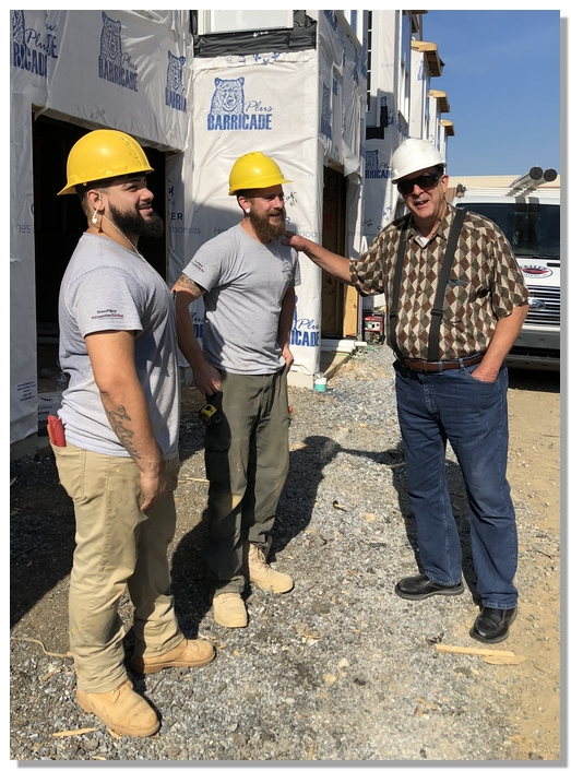 Visiting with JK installers 7/20/18