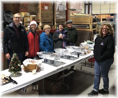 JK Mechanical employee appreciation breakfast 12/21/17