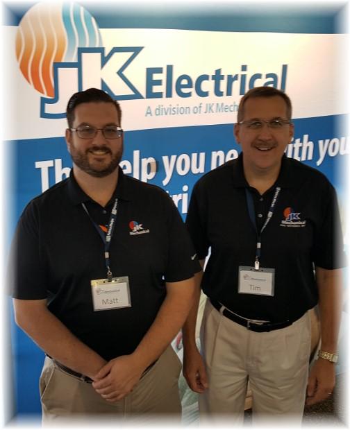 JK Sales team at Lampeter Fair 9/28/16