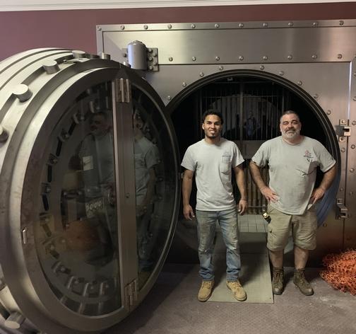 JK HVAC installers in bank 6/11/19