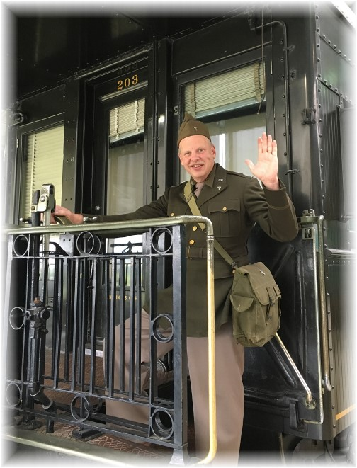 John Uhler at Pennsylvania Railroad Museum 11/5/17