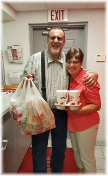 Kleen-Rite KFC delivery 8/18/17