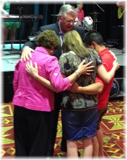 Prayer at chaplain conference 6/25/14