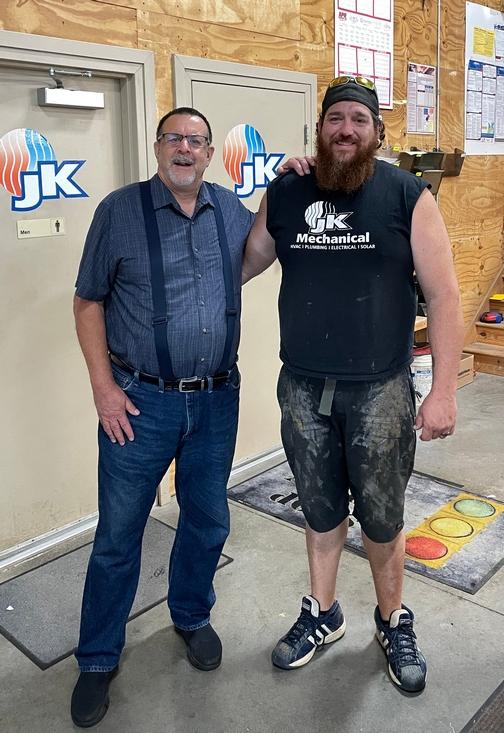 Ryan, JK plumber
