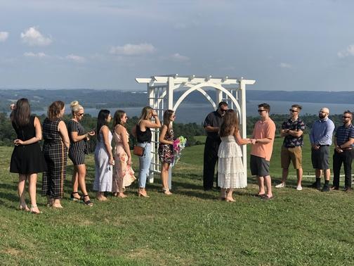 Taylor Frey wedding rehearsal 8/15/19