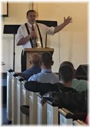 Stephen speaking at Teen Challenge chapel service 7/9/17