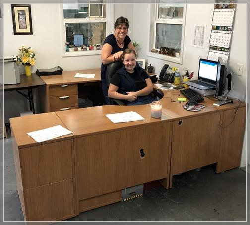 Logan's desk, Val-Co 9/20/18