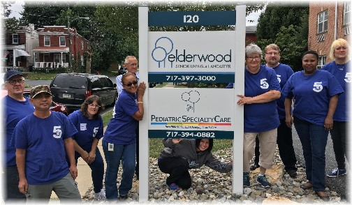 Val-Co community service day 9/16/16