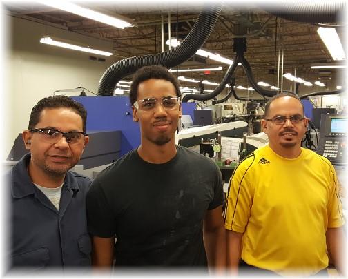 Vallorbs machine operators 8/31/17