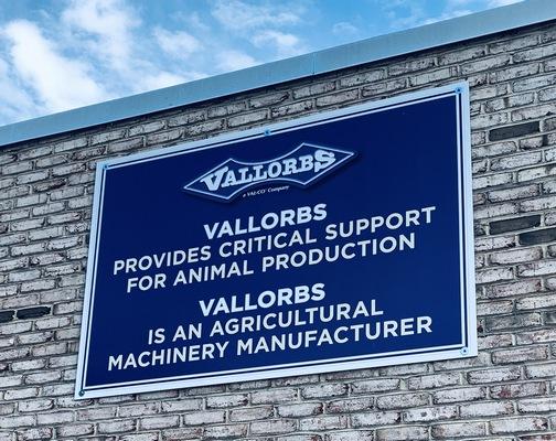 Vallorbs sign