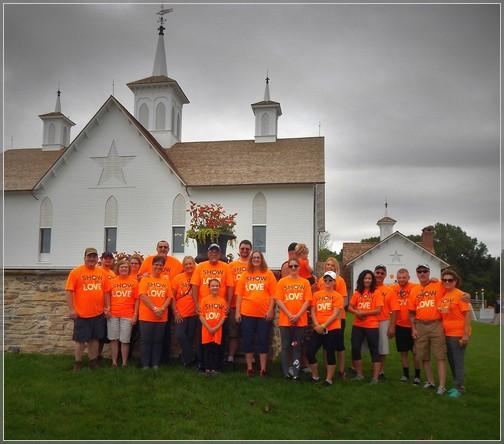 White Oak team at Star Barn near Elizabethtown, PA 9/15/18