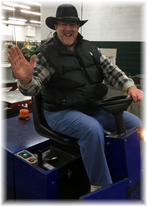 Workplace Zamboni
