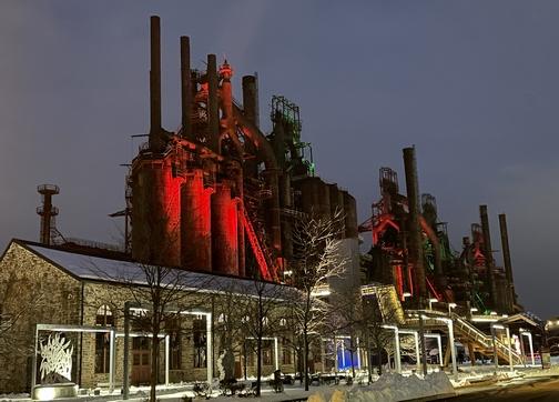 Blast furnaces at former Bethlehem Steel, Bethlehem, PA