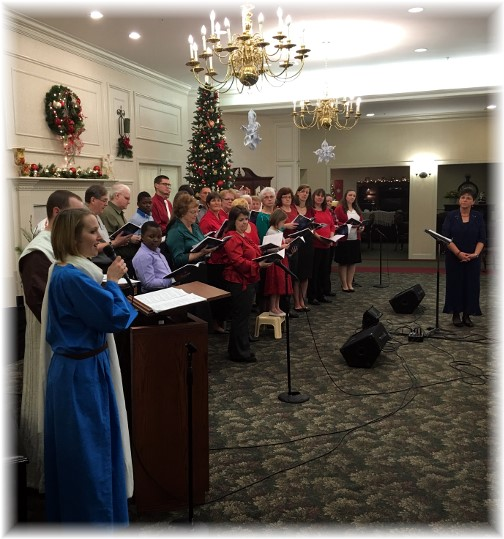 Christmas choir 2015