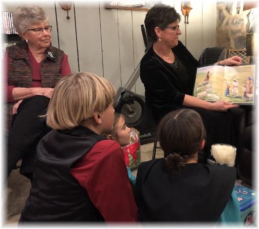 "Brooksyne showing photos of ""The Crippled lamb"" 12/24/17"