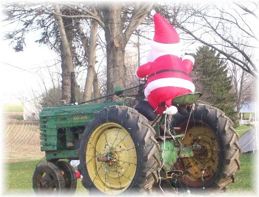 John Deere santa near Maytown, PA
