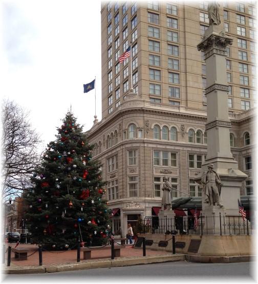 Lancaster city Christmas tree