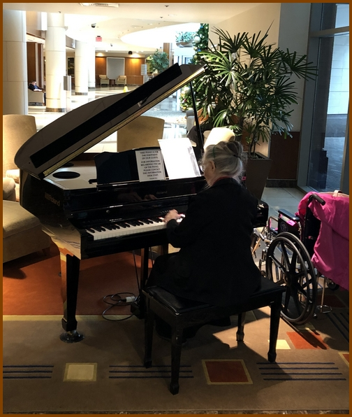 Lancaster general Hospital 91 year old pianist 12/21/18