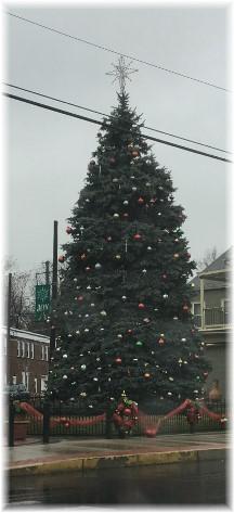 Mount Joy PA Christmas tree