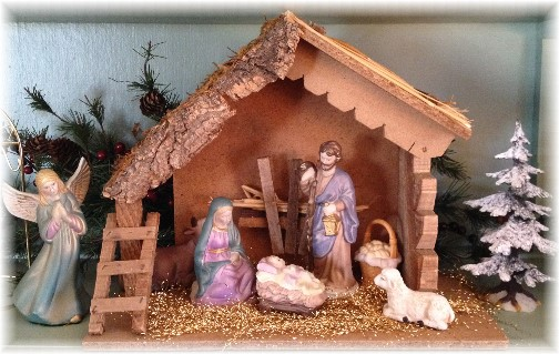 Poole Forge nativity scene