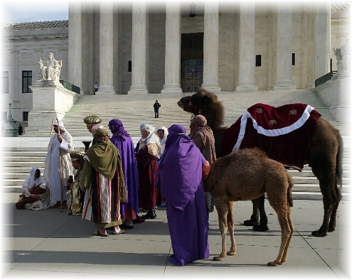 Supreme Court Nativity scene (Lee Smucker)