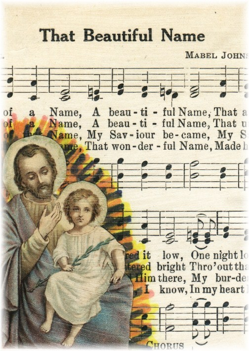 """""""That Beautiful Name"""" Hymn Page"""