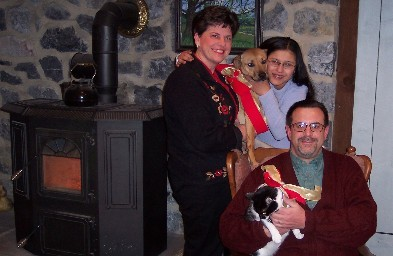Weber family Christmas photo