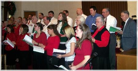 2009 Christmas Choir at Mount Pleasant