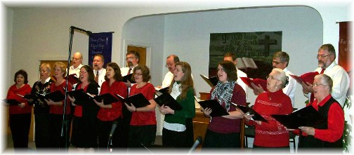 "2010 Choir ""O Holy Night"""