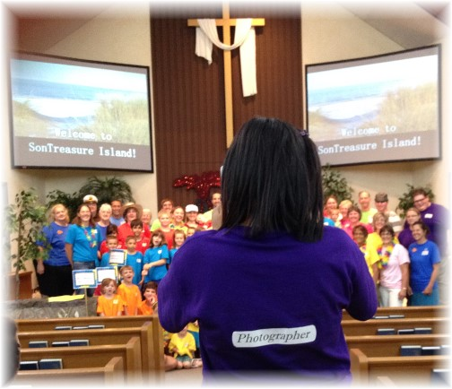 2014 VBS at Mount Pleasant