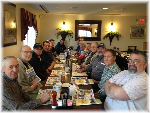 Mount Pleasant Men's Breakfast 5/2/15