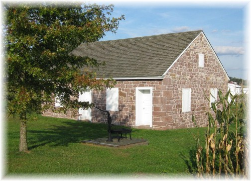 Alleghany Mennonite Meetinghouse, Berks County PA