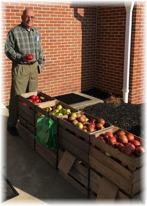 Apples at church 12/6/15