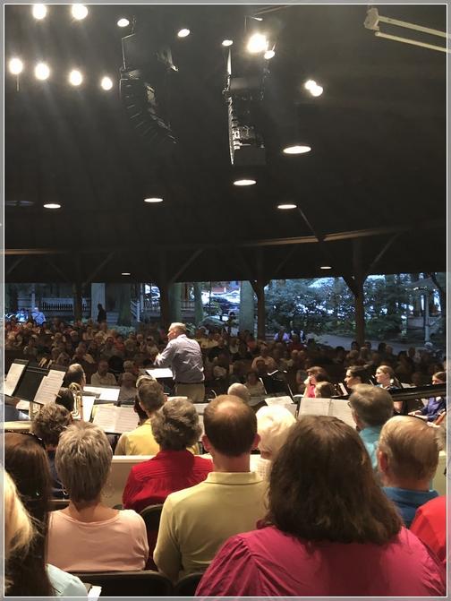 Calvary Church choir and orchestra at Mount Gretna Tabernacle 8/12/18