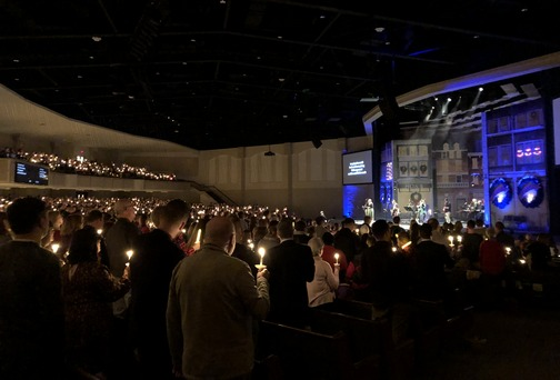Calvary Church Christmas service 12/24/19