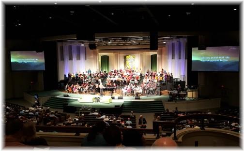 Calvary Church Choir 10/8/17